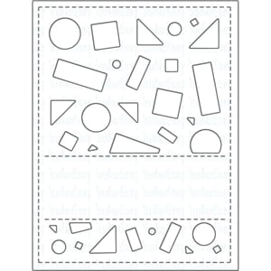Your Next Stamp: Crazy Shapes Panel Die