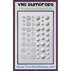 Your Next Stamp: White Sugar & Sparkle Gumdrops,54/Pkg