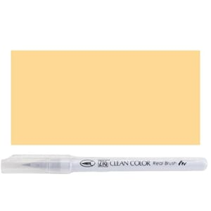 Kuretake ZIG: Pale Orange Clean Color Real Brush Marker