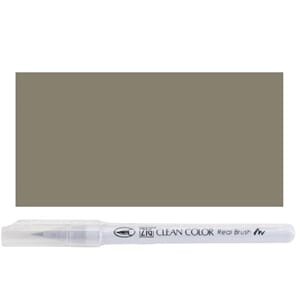 Kuretake ZIG: Platinum Brown Clean Color Real Brush Marker