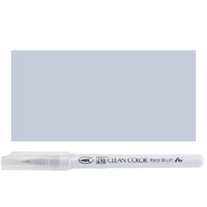 Kuretake ZIG: Fog Gray Clean Color Real Brush Marker